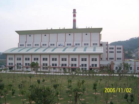 深圳平湖二期垃圾发电项目