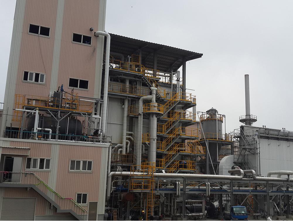 Taiwan Lili group 35th coal fired boiler