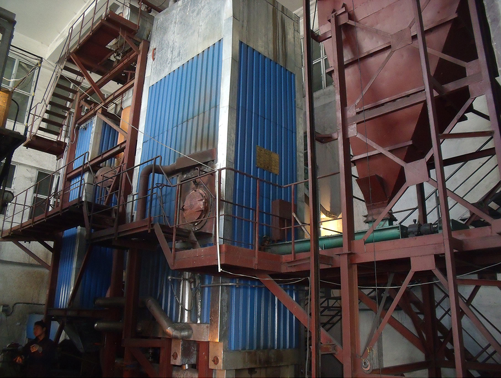 After the valley of Yunnan Coffee Co., Ltd. 6th coal-fired boiler